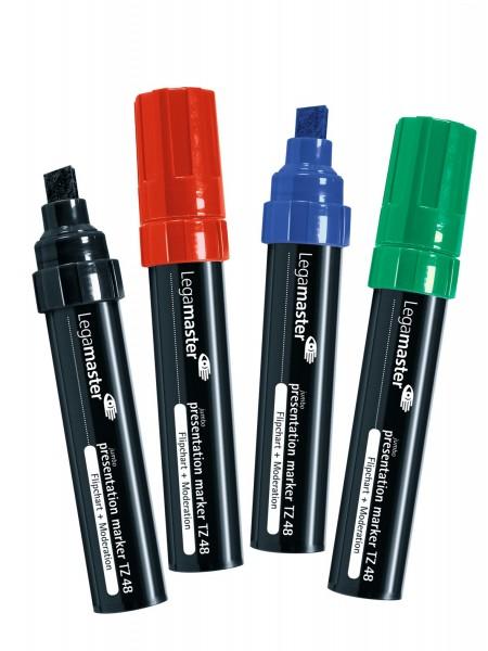 Flipchart-Marker Legamaster TZ 48, 4er-Set