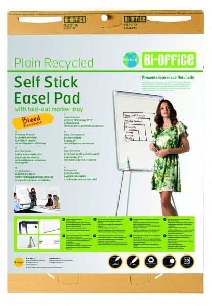 Flipchartblock Bi-Office Earth-It, selbstklebend - 2 Stück