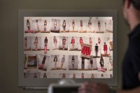 Whiteboard-System rocada Skin, Projektionswand
