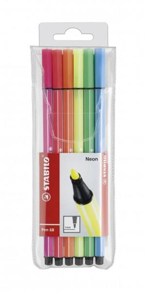 STABILO Fasermaler Pen 68 Neon
