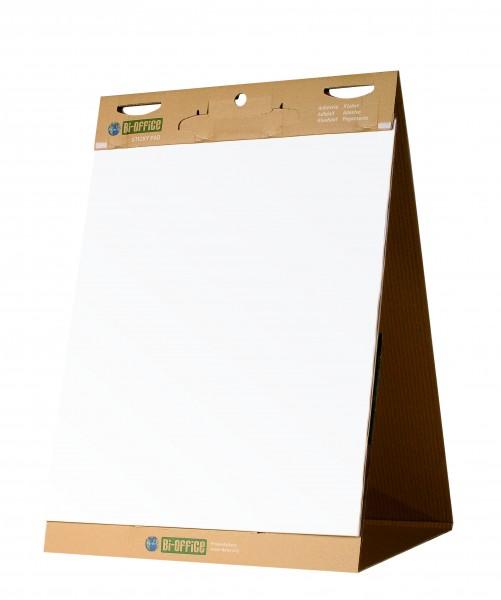 Flipchart-Aufsteller Bi-Office Earth-It, Recyclingpapier - 6 Stück