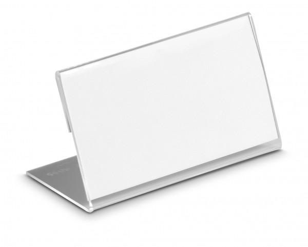 Tischnamensschild Durable, L-Form - 10 Stück