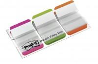 Post-it Index-Streifen Strong, mit Schreibfläche