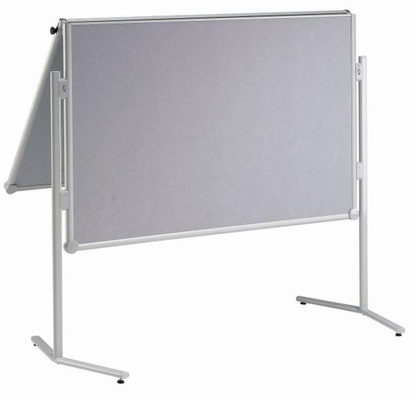 Moderationswand MAUL pro, klappbar, Glasfaser