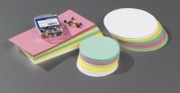 Moderationskarten-Set MAUL, farbsoriert, inkl. Pinnadeln