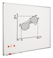 Whiteboard SMIT VISUAL Softline, emailliert