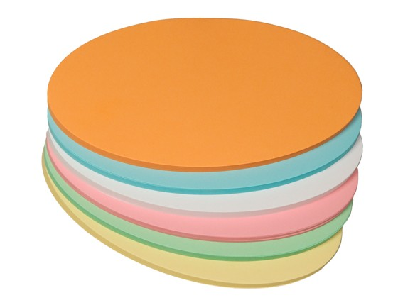 Moderationskarten Stöffler, oval