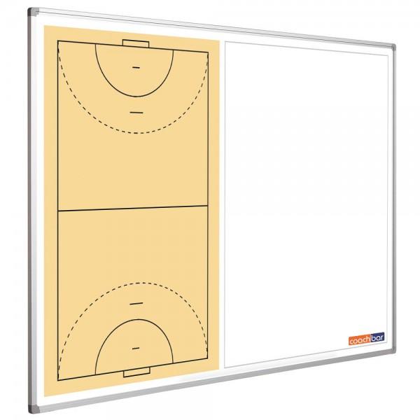 Handballtafel Smit Visual, Querformat halbseitig
