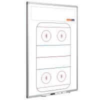Eishockeytafel Smit Visual, Hochformat