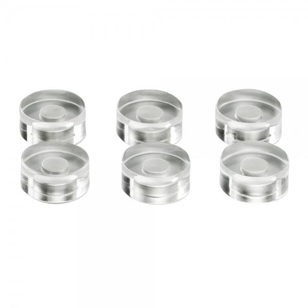 Design-Magnete magnetoplan, Medium - 6 Stück