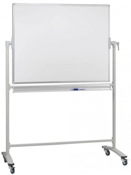 Whiteboard-Drehtafel Franken, mobil - emailliert
