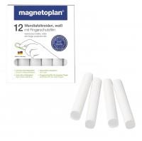 Wandtafelkreide magnetoplan weiß, 12er-Set