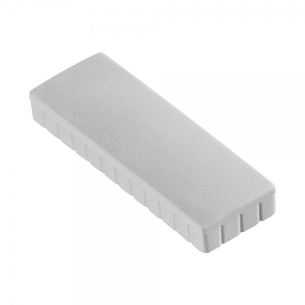 Rechteck Magnet MAUL, solid - 10 Stück