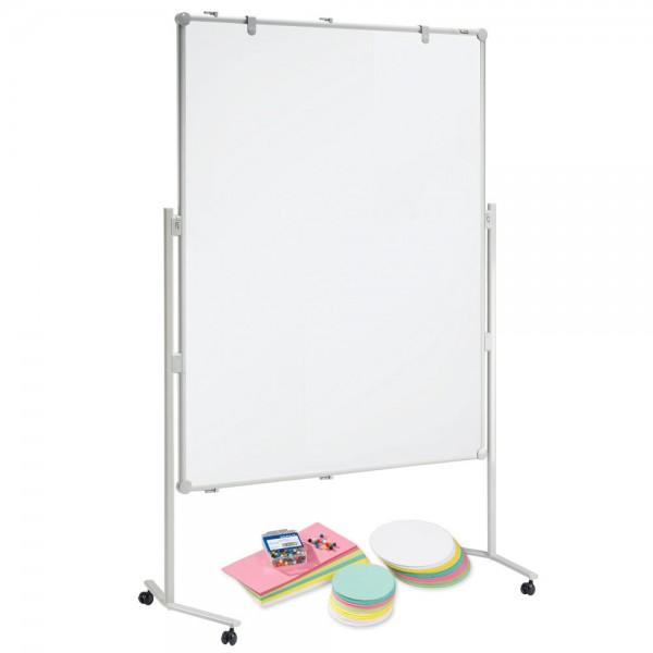 Whiteboard-Set MAUL pro, doppelseitig