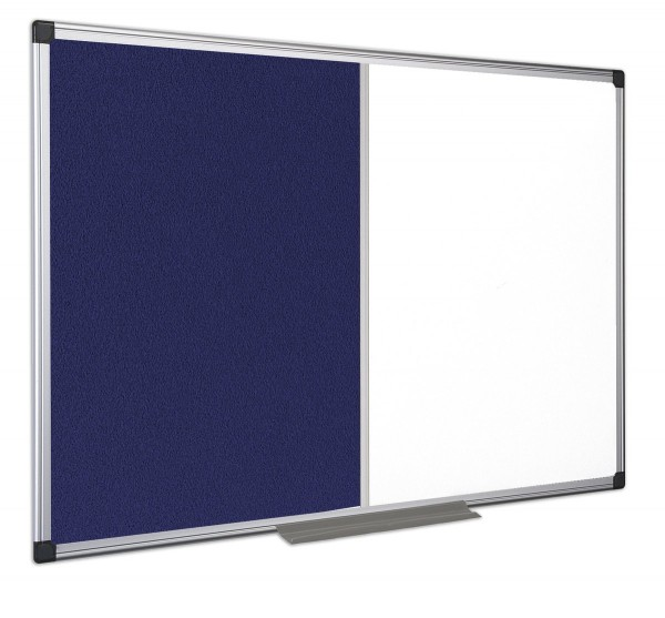 Kombitafel Bi-Office MAYA Textil/Whiteboard