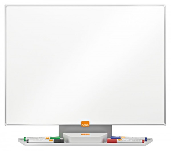 Whiteboard nobo clean, magnethaftend