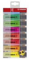 Textmarker STABILO BOSS Original, 8er-Set