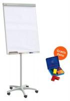 Flipchart-Set coachbar + GRATIS Wachsmalblöcke