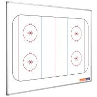 Eishockeytafel Smit Visual, Querformat