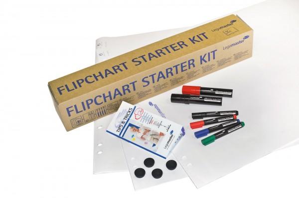 Flipchart-Starter-Set Legamaster 14-teilig