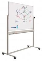 Whiteboard-Drehtafel Smit Visual, doppelseitig