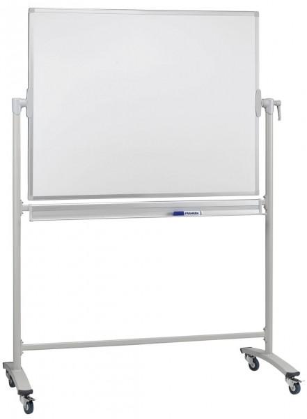 Whiteboard-Drehtafel Franken, mobil - lackiert