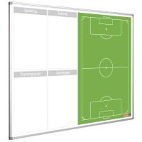 Fußballtafel Smit Visual, Planerboard