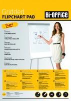 Flipchartblock Bi-Office, 5 x 40 Blatt