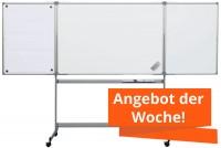 Whiteboard-Klapptafel MAUL mobil