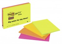 Post-it Super Sticky Meeting Notes, 4er-Set