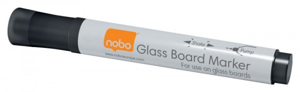 Whiteboard Marker nobo, schwarz - 4 Stück