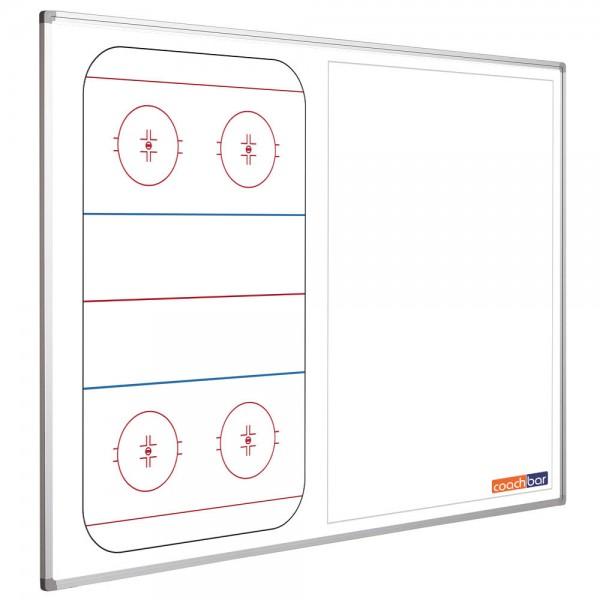 Eishockeytafel Smit Visual, Querformat halbseitig