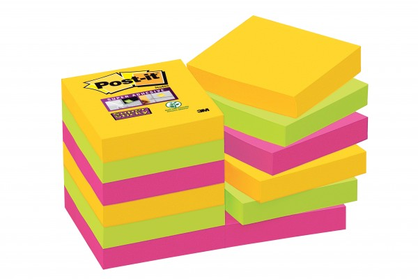 post it super sticky notes rio de janeiro kollektion. Black Bedroom Furniture Sets. Home Design Ideas