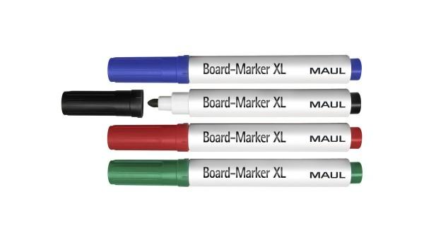 Whiteboard-Marker MAUL XL, 4er-Set
