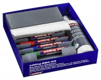 Whiteboard Zubehörset e-BMA 15S edding, 27 Teile