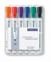 Whiteboard-Marker STAEDTLER Lumocolor, 6er-Set