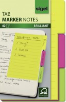 Haftnotizen Sigel Tab Marker Notes