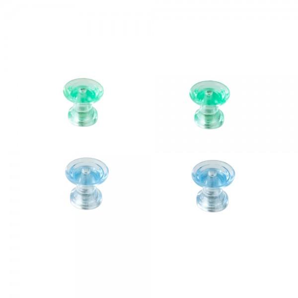 Design-Magnete DY Magnete, transparent