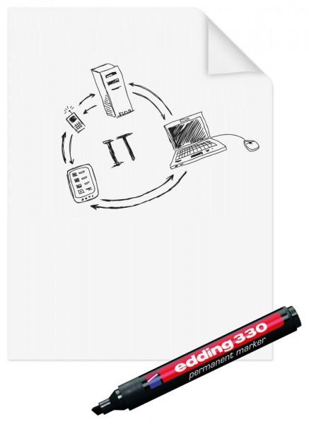 Legamaster Magic-Chart Paperchart, inkl. Marker