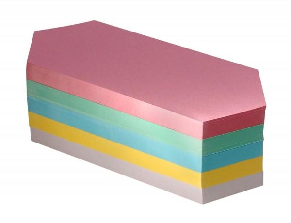 Moderationskarten-Block FairPaper, Rhombus