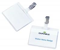 Namensschild Durable für Betriebsausweise