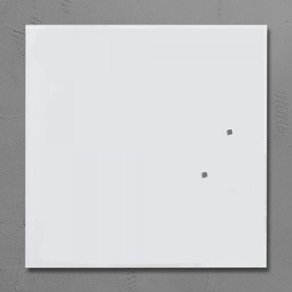 Glas-Magnettafel Sigel Artverum, Weiß