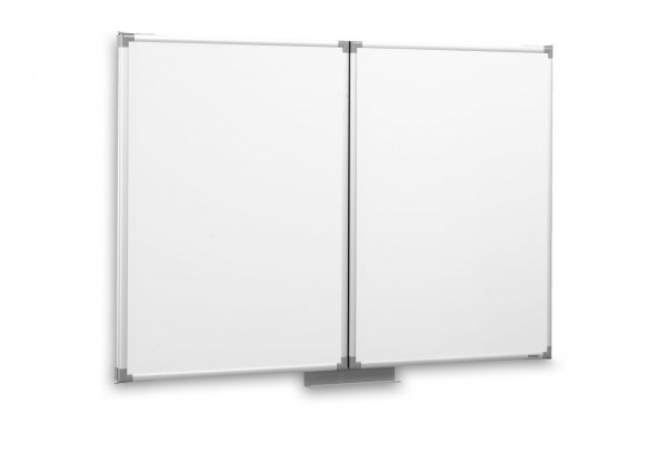 Whiteboard-Klapptafel MAUL, zwei Flügel