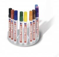 Permanent-Marker EDDING 3000 Systembox, 10 Stück