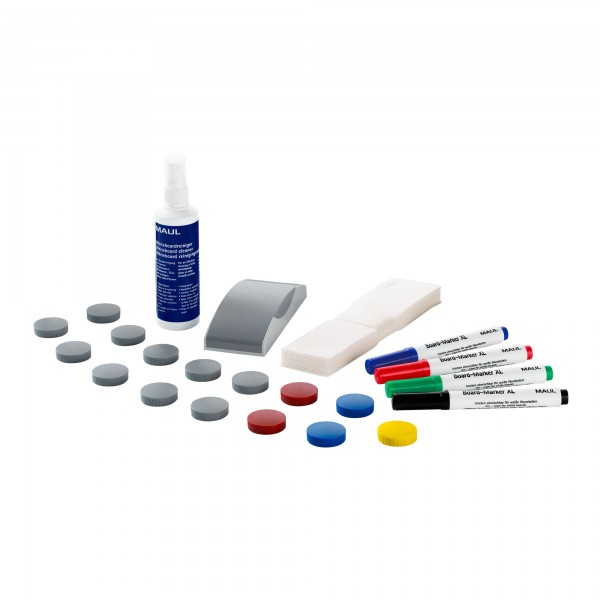 Whiteboard-Set MAUL standard, für alle Whiteboards