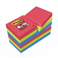 Post-it Super Sticky Notes, Bora-Bora-Kollektion