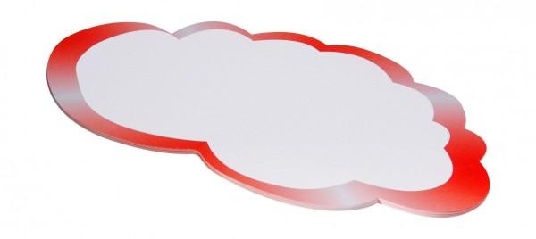 Moderationskarten FairPaper, Wolkenform