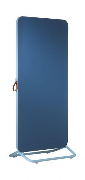 Kombiboard Smit Visual, blauer Rahmen
