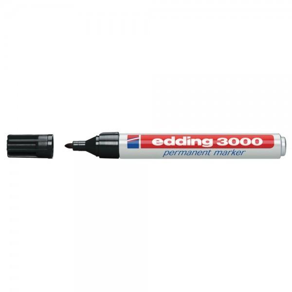 Permanentmarker edding 3000, 10er-Set