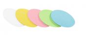 Moderationskarten Legamaster, oval - 500 Stück